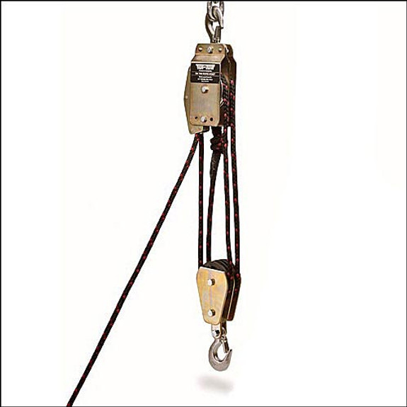 Double Block Rope Hoist