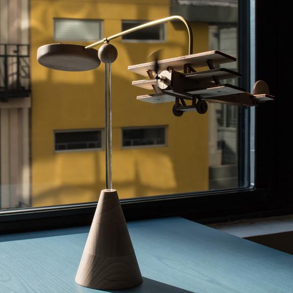 Solar Driven Model Tri-Plane