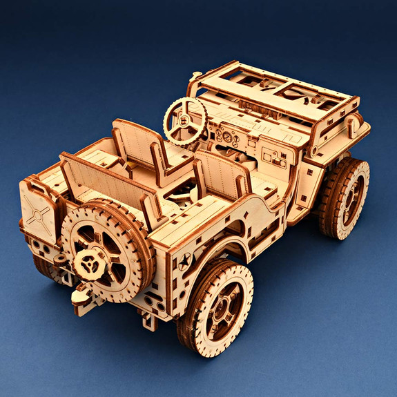 Willys Jeep Wooden Model