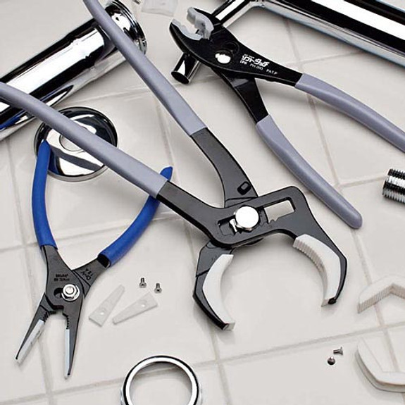 Slip Joint & Pipe Pliers Set