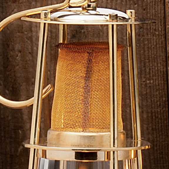 Brass Miner's-Style Oil Lamps