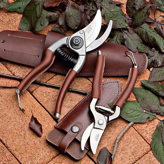 Leather Belt Holster (Trim Pruner)