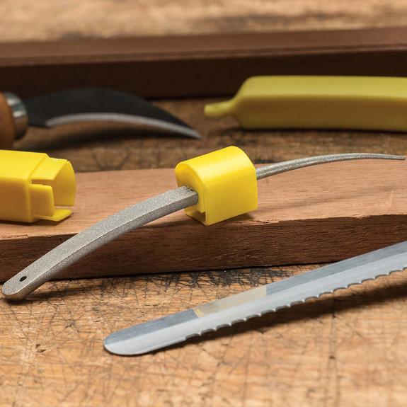 The Banana-Shaped Sharpening Miracle