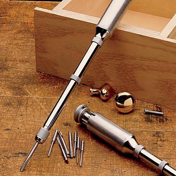 Garrett Wade Push Drill - Silver