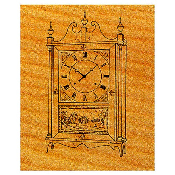Shelf Clock - Stock #31