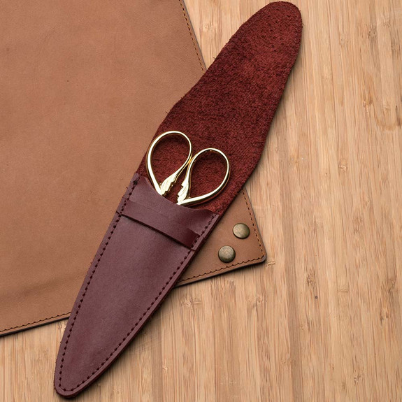 Burgundy Leather Case