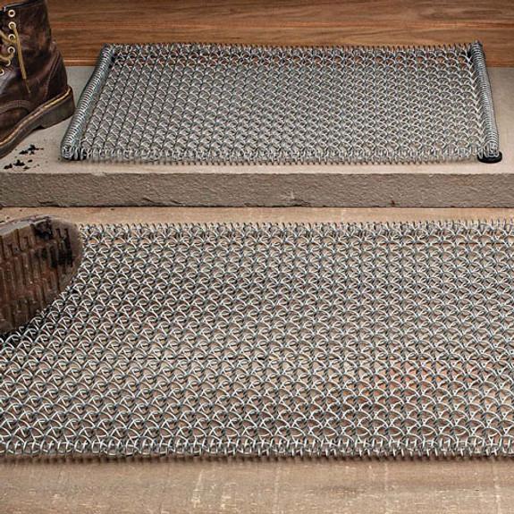 "Small Steel-Coil Mat 15 x 23"""