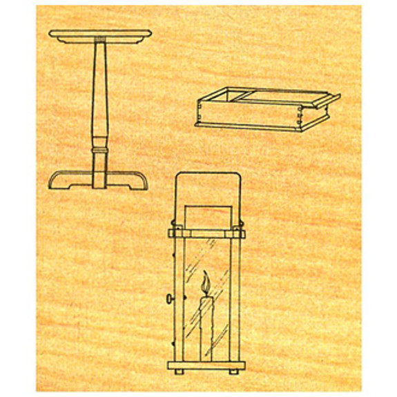 Candlestand/Tripod Table - Stock #OS1