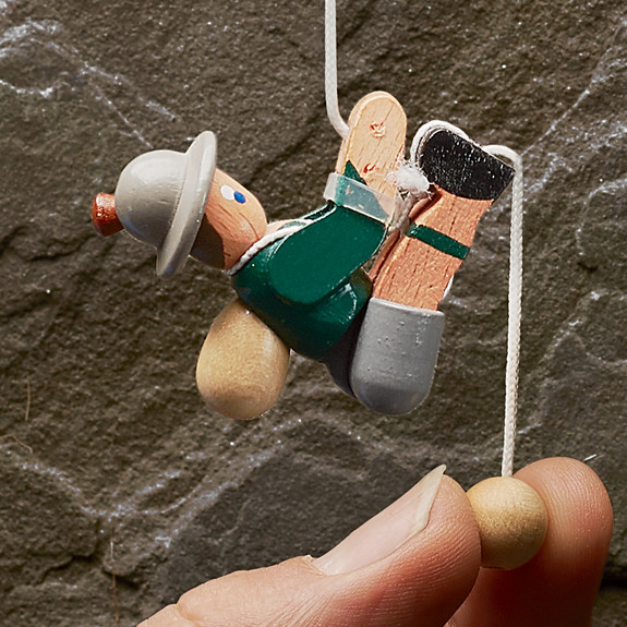 Hand Carved Pull-Up Toys