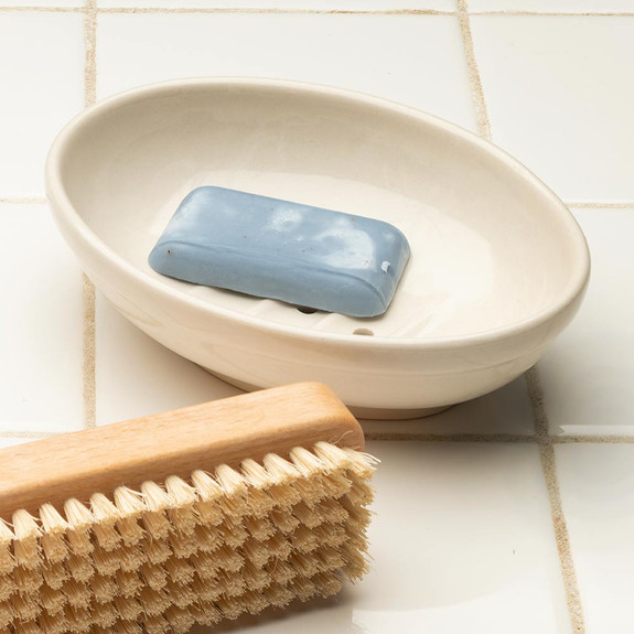Simple, Elegant Ceramic Soap Dish