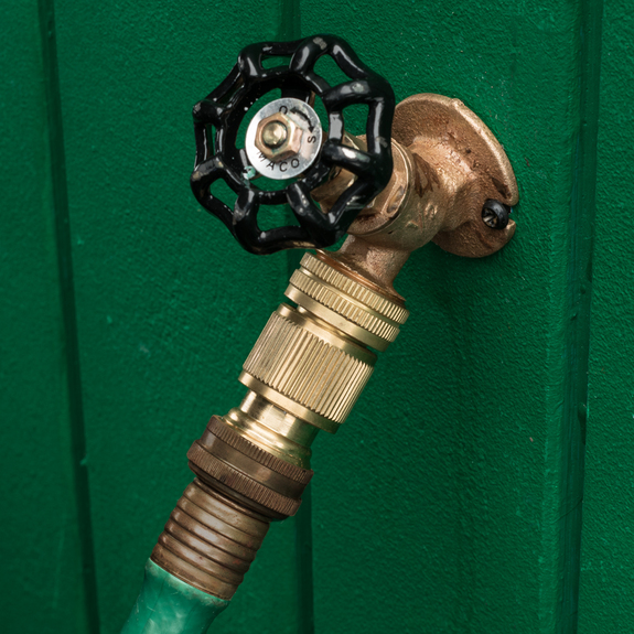 Solid Brass Quick-Change Garden Hose Fittings