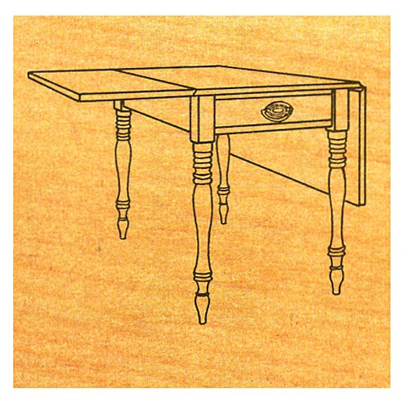 Drop-Leaf Table - Stock #51
