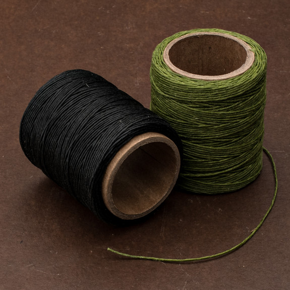 Olive Waxed Polycord