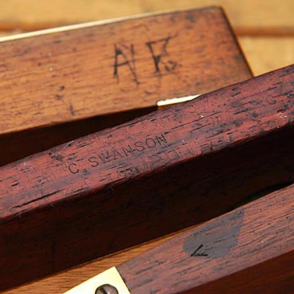 Antique English Torpedo Level