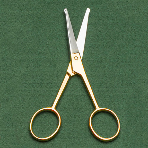 French Made Safety Mustache Scissors