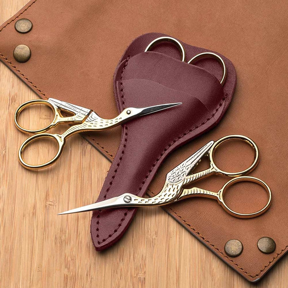 Stork Style Embroidery Scissors