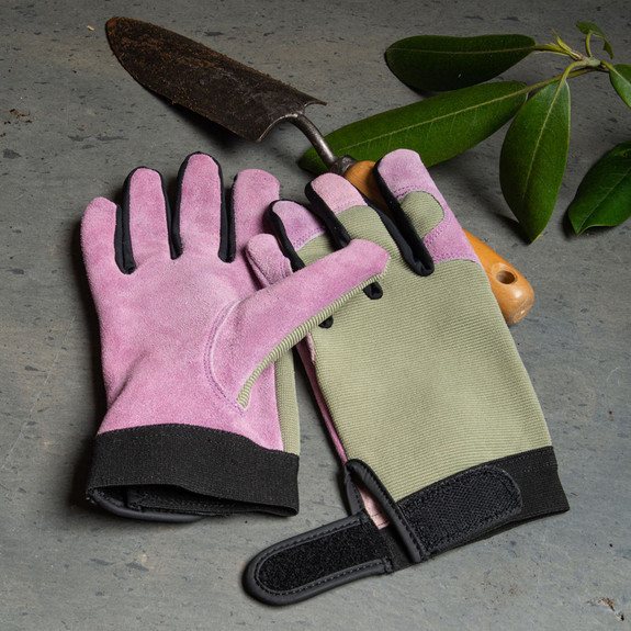 Lavender Lady's Gloves - Lge.