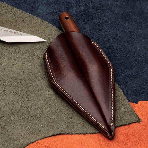 Sheath for 2 Beveled Knives