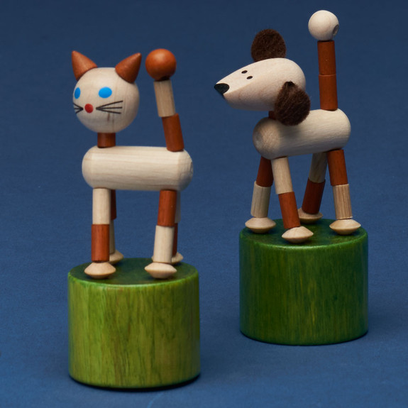Four Small Collapsing Toys