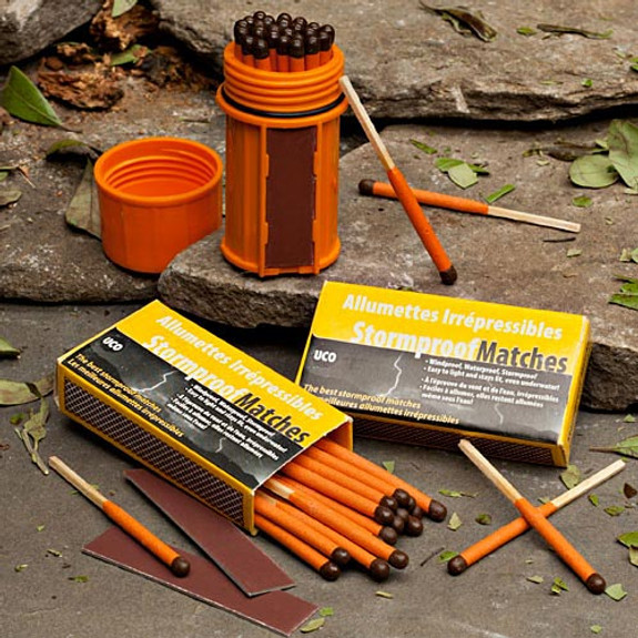 Wilderness Matches Kit