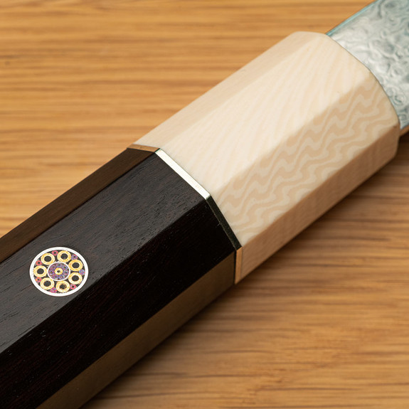 Damascus-Steel Chef's Knives