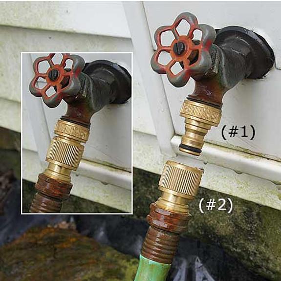 Faucet End Connector #2 - (set of 3)