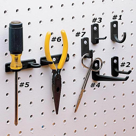 #4 Straight Hooks (6)