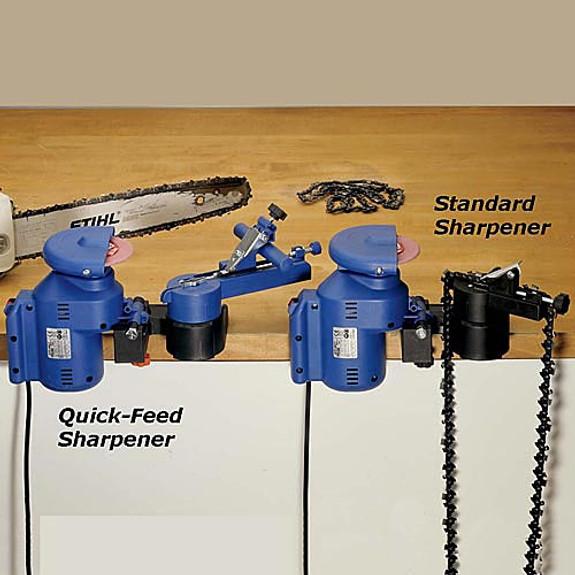 Quick Feed Chain Sharpener (22mm Arbor)