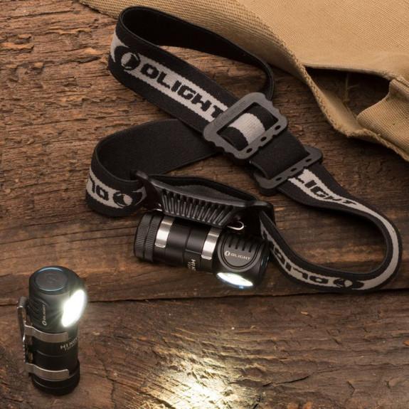 Dual Headband & Handheld LED Light
