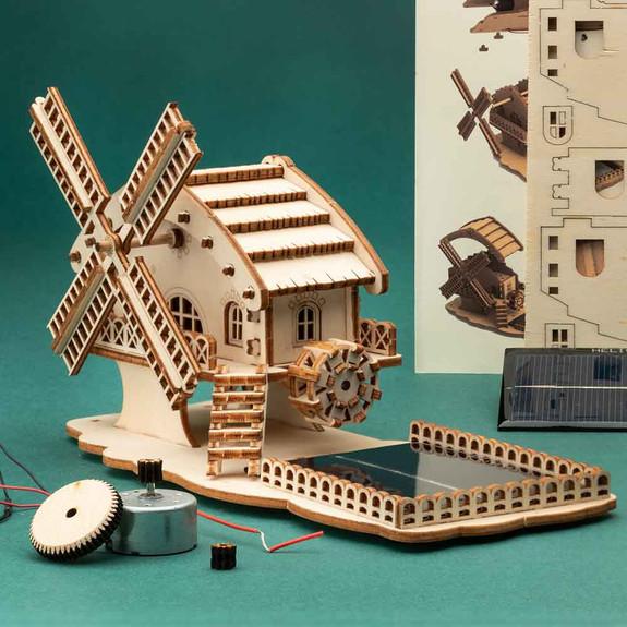 Solar Wind Mill Kit