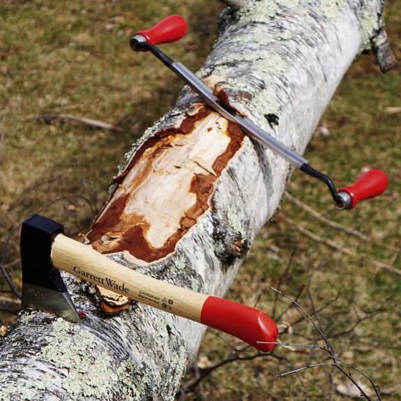 Mini Camp Hatchet & Draw Knife - Homestead Building Pair