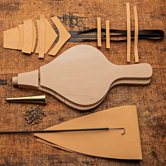 Fireplace Bellows Do it Yourself Kit