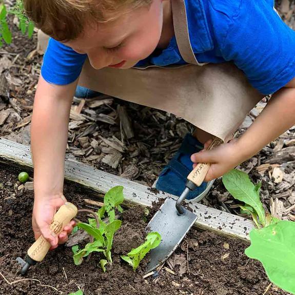 Junior Garden Fork and Trowel