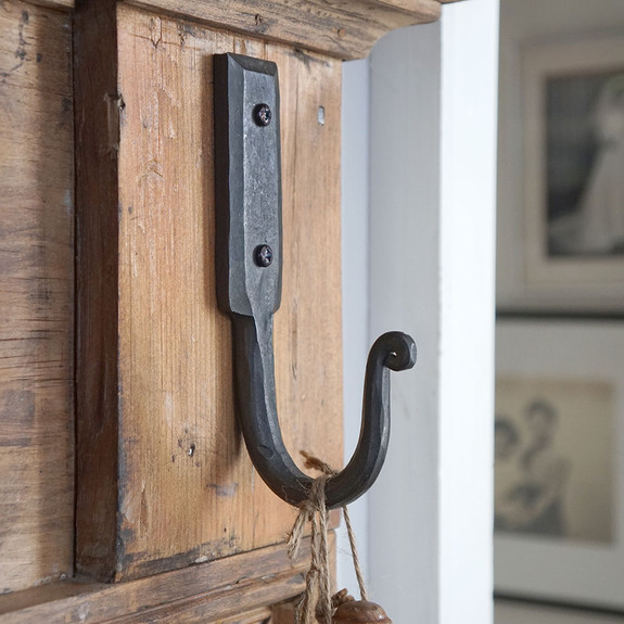Hand Forged Iron Wall Hook
