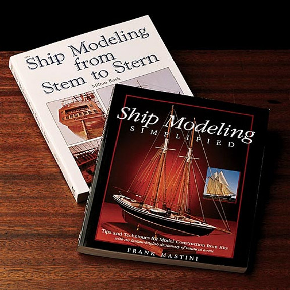 Terrific, Instructive Books for Wooden Ship Modelers