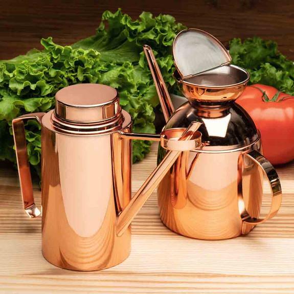 Copper/Steel Decanter 22 oz.