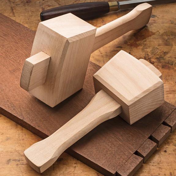 Solid Beechwood Carpenters' Mallets