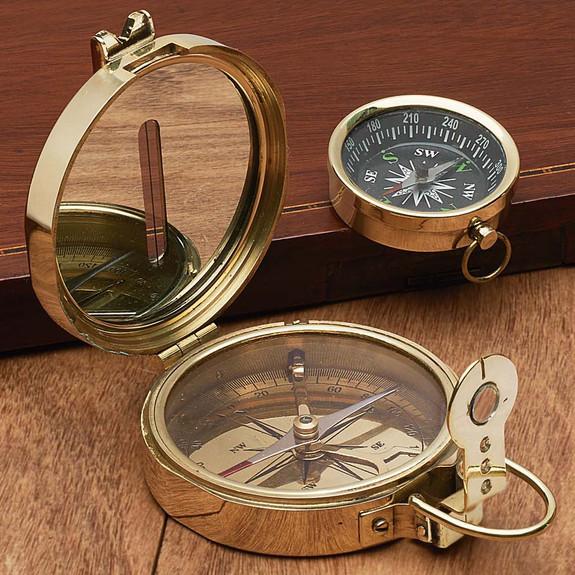 Lensatic-Style Compass