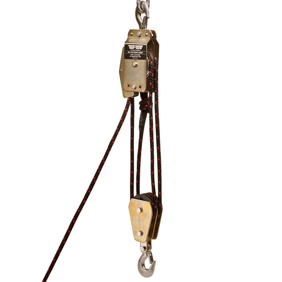 Block and Tackle Rope Hoist