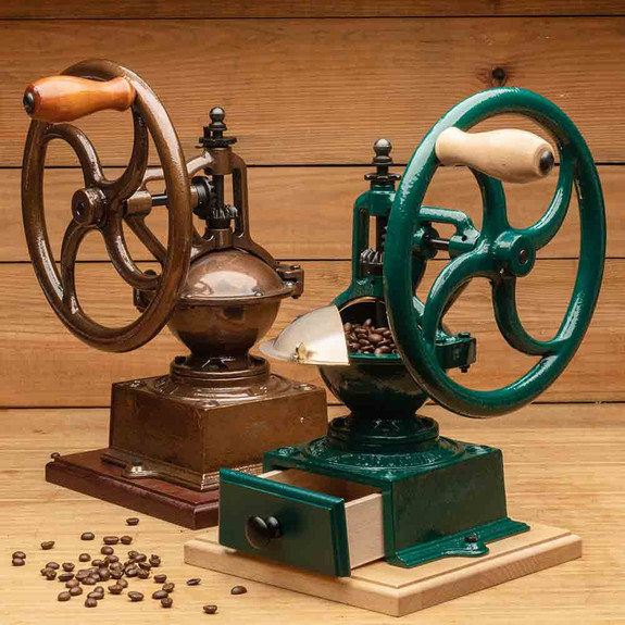 Large Coffee Grinder- Copper