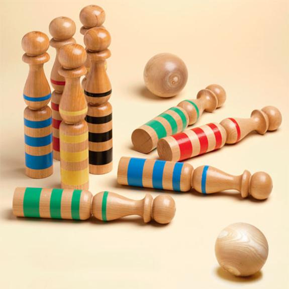 9 Pin Bowl Set