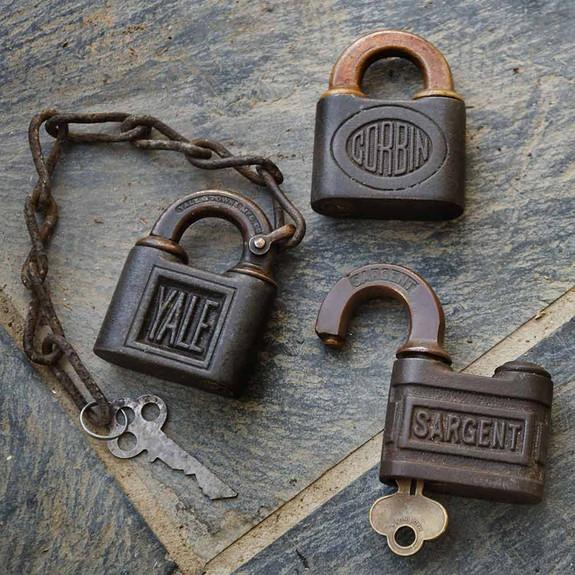 One-of-a-Kind Pin Tumblers Vintage Locks