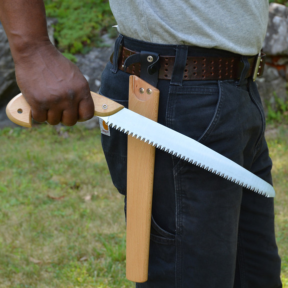 """12"""" Pruning Saw with Wood Holster"""