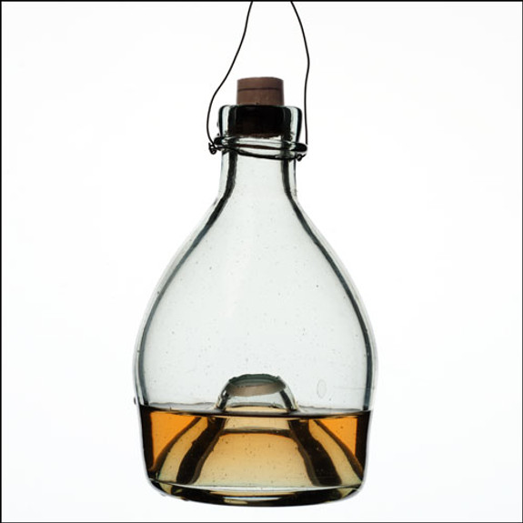 """Traditional Glass """"Wasp Traps"""""""