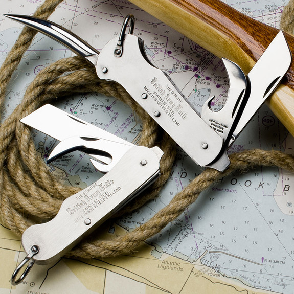 Two Bladed British Army Knife