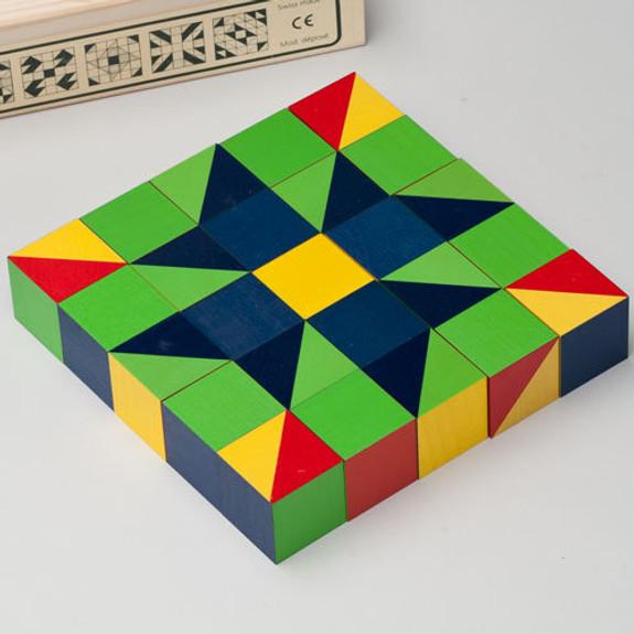 Beautiful Wood Cube Puzzles