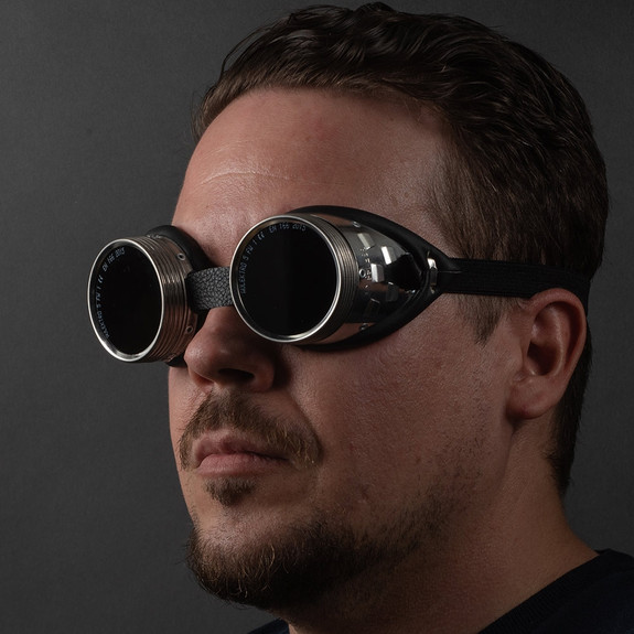 German-Made Real Shop Safety Goggles