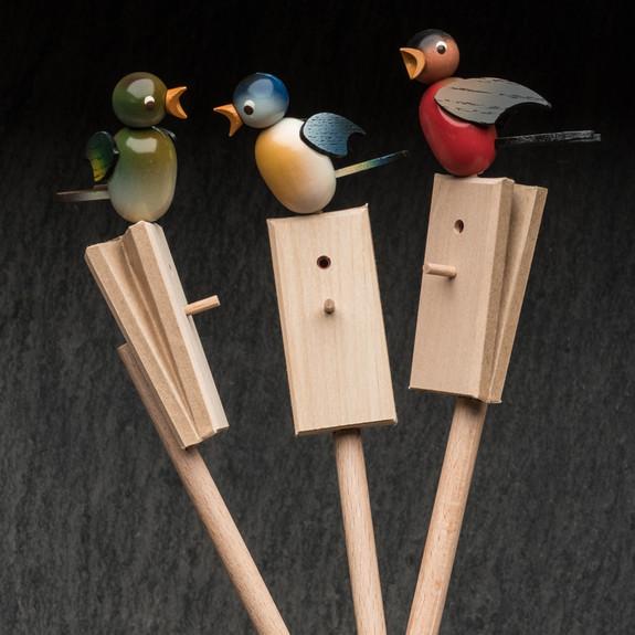Hand Made Singing Birds