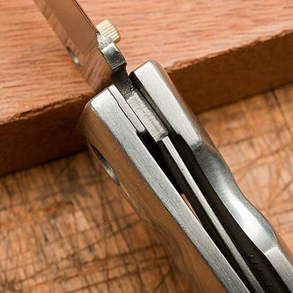 Drop-Point Pocket Knife