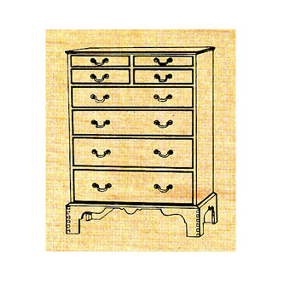 Chest of Drawers - Stock #M4